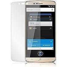 Protector de pantalla Cristal templado para Elephone P8000 Calidad HD, Grosor 0,3mm, Bordes redondeados 2,5D, alta resistencia a golpes 9H. No deja burbujas en la colocación (Incluye instrucciones y soporte en Español)