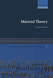 Matroid Theory (Oxford Graduate Texts In Mathematics)