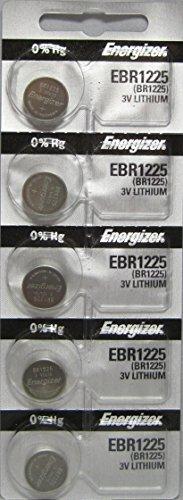 Energizer BR1225 3.0V - piles (Litio, Button/coin, 3 V, argent, 12 mm, 12 mm)
