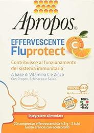 Desa Pharma Apropos Fluprotect Effervescente, 20 Compresse