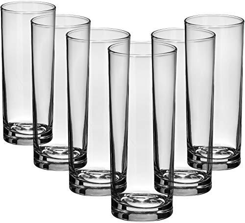 COM-FOUR Ensemble de lunettes au design moderne et élégant, va au lave-vaissell