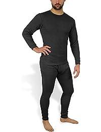 Sehr warme Thermo Unterwäsche - Ski Sportunterwäsche Garnitur - Unterhose und Hemd Thermounterwäsche von normani