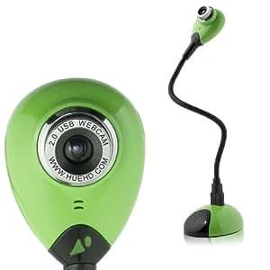 Caméra USB HUE HD pour Windows et Mac (Vert)