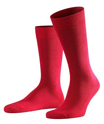 FALKE Herren Family M SO Casual Socken, Rot (Scarlet 8280), 43-46