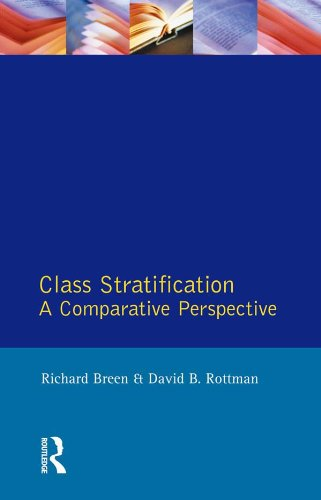Class Stratification: Comparative Perspectives por Richard Breen