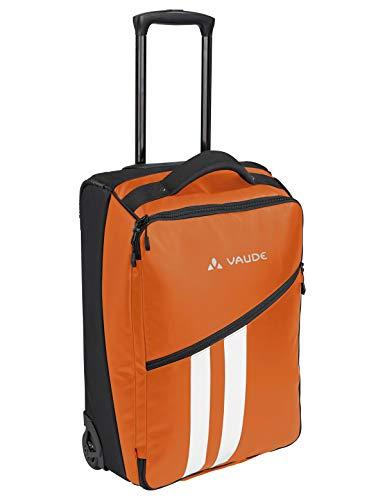VAUDE Rotuma 35, Kleiner Trolley für Kurzreisende, 35l Reisegepäck, Orange, one Size