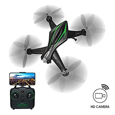 WIFI FPV Version Drones with HD Cameras for Kids Medium Four Axis 2.4GHz 6 Axis Gyroscope Aircraft Headless Mode Altitude Hold One Key Function Compatibility of gravity induced damage resistance(Z-SERIES 720P WIFI FPV Version)