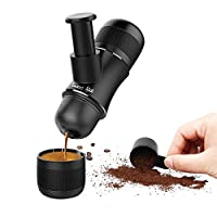Sweet Alice Coffee Maker Portable HandHeld Mini Espresso Caffe Cappuccino Machine Manual Pressure for Home Office Travel Outdoor No Battery and No Electronic Power