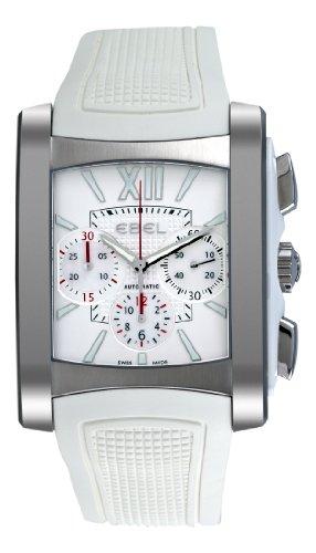 Ebel Women's 9126M52/164WC35 Brasilia Silver Chronograph Dial Watch