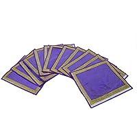 Kuber industrias único material de embalaje cubierta de tela, en no tejido con Zari frontera