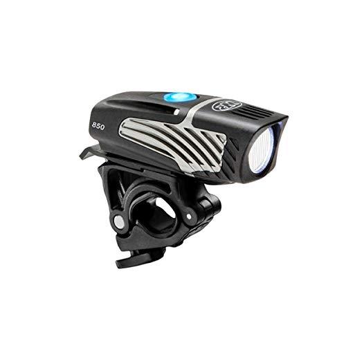 Nite Rider Luminia Micro 850 Luz Delantera de Bicicleta, Iluminación, Negro, Talla única