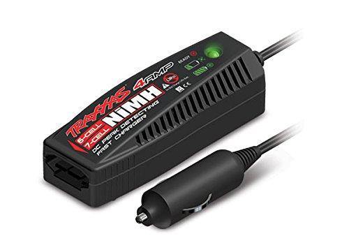 Traxxas 2975 Chargeur de Batterie Chargeur de Batterie Automobile - Chargeurs de Batterie (4 A, Chargeur de Batterie Automobile, Hybrides Nickel-métal (NiMH), 1 pièce(s))