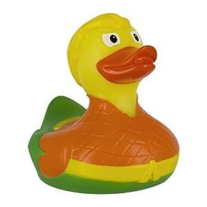 Pato de baño de DC Comics Aquaman | Divertidos Patos de Goma para baño y Agua | Ideal para niños Juguetes de baño y llevarlo a Juegos de Piscina