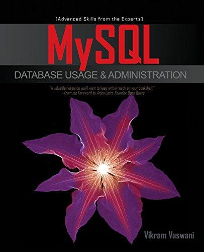 MySQL Database Usage & Administration by Vikram Vaswani (1-Nov-2009) Paperback par Vikram Vaswani