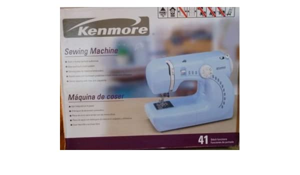 kenmore mini ultra sewing machine. kenmore mini ultra 3/4 size sewing machine with 6 stitches plus buttonhole: amazon.co.uk: kitchen \u0026 home