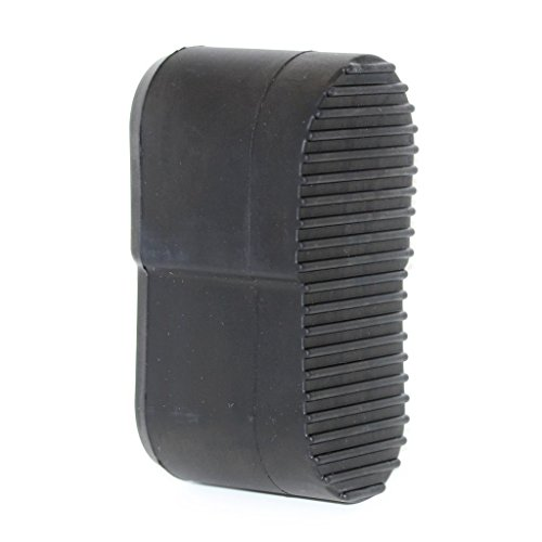 Airsoft Softair Ausrüstung Kunststoff Gummi PVC Stock Butt Platte für P90 schwarz