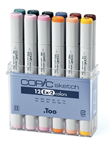 Copic Sketch - EX2 - 12er Set