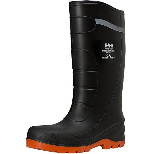 Helly Hansen 78307_992-36 Vollen Bottes en caoutchouc WW Taille 36 Noir/Orange Noir/orange