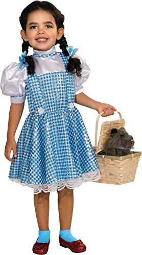 Oz Kinder Kostüm Wizard Of - Rubie 's OFFIZIELLER The Wizard of OZ Pailletten Dorothy, Kind Kostüm - groß