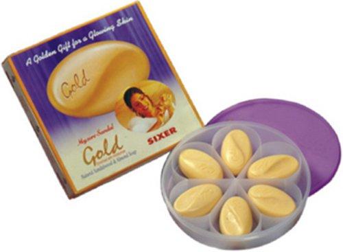 mysore-pure-sandal-gold-premium-soap-125g-x-6-gift-pack-made-from-sandalwood-oil-almond-oil