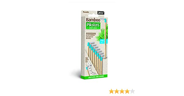 Bamboo pikster Angle Droit Taille 3-6 pk