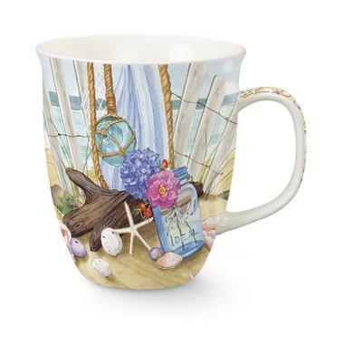 Seaside Ceramic (Coffee or Tea Ceramic Mug, Seaside Gathering by Cape Shore)