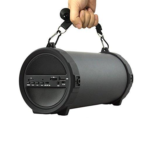 QAZWSX Outdoor Bluetooth Lautsprecher Wireless Sports Tragbare Subwoofer Bike Car Musik Lautsprecher Radio FM Mp3 Player,A