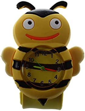 TOOGOO (R) Kinder Silikon Armbanduhr Cartoon Uhr Sport Damen Kinder Watch Analog Quarzuhr Auswahl
