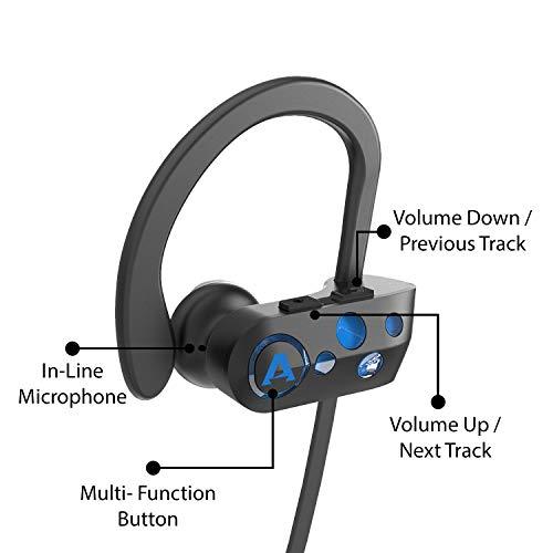 boAt Rockerz 261 Wireless Earphones (Jazzy Blue)