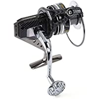 Shuzhen,12 + 1BB Full Metal Fishing Spinning Reel con Mango quincuncable Intercambiable(Color:Gris Oscuro,Size:7000)