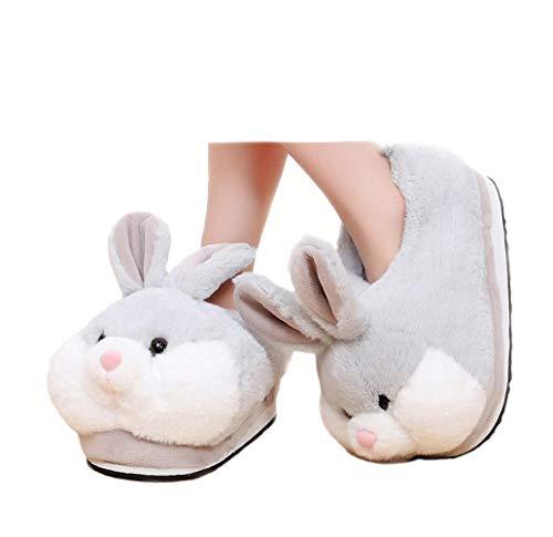 Cartoon animali coniglio scarpe casa scarpe casa scarpe casa (gray)