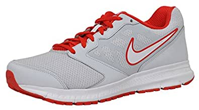 Nike Men's Grey Red Running Shoes -11 Uk