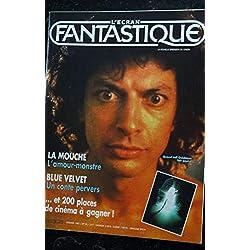 L'écran fantastique n° 76 * 1987 * LA MOUCHE L'amour-monstre BLUE VELVET un conte pervers Massacre à la tronconneuse 2