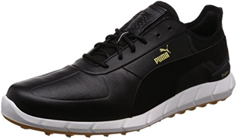 Puma Ignite Spikeless Lux Herren Golfschuhe Männer Sportschuh schwarz