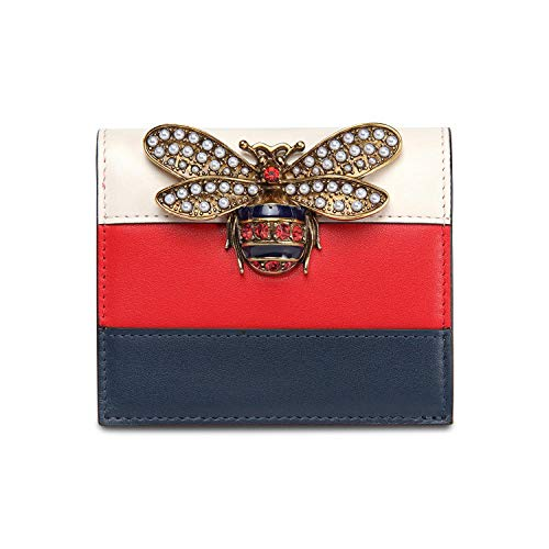 YZJLQML Damentasche DamenbekleidungCasual Women's Wallet Short Mini Wallet @Blue -