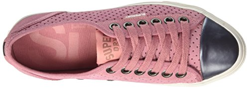 Superdry Damen Low Pro Luxe Derby-Schuhe Rosa (Misty Rose)