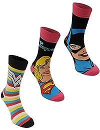 6 Pairs / 3 Pairs New Prints Marvel Comics Action Hero Design Socks Mens Novelty Fun Spiderman Hulk Captain America Iron Man Marvel Socks 6-11