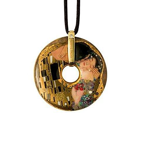 Goebel Le Baiser Pendentif, Artis Orbis, Art Décoration, Porcelaine, Gustave Klimt, 66989575