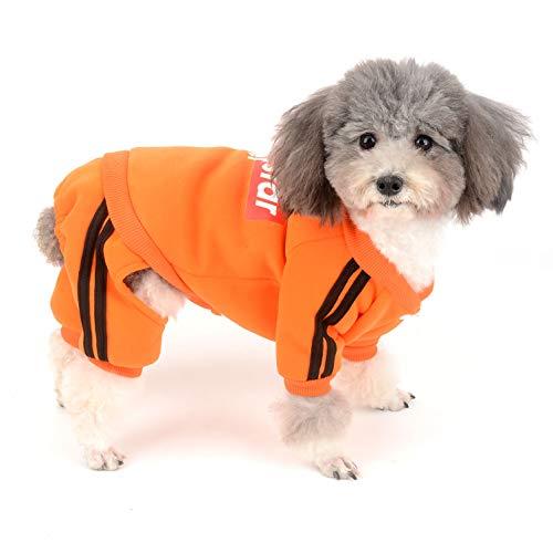 t aus Fleece, warm, mit Kapuze, für den Winter, für Chihuahua, Kleidung für Welpen, Trainingsanzug für Mädchen und Jungen ()