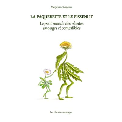 La paquerette et le pissenlit - Le petit monde des plantes sauvages et comestibles