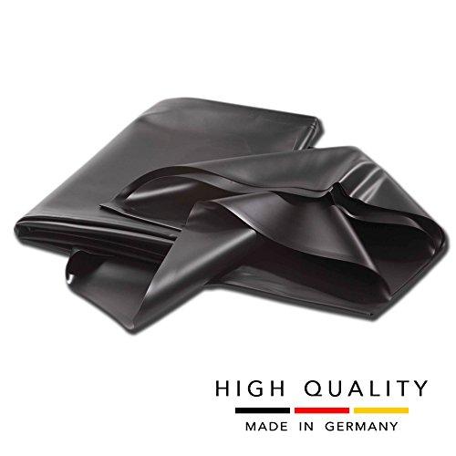 Telo per laghetti stagno da giardino in PVC rinforzato qualità made in Germany (8x8 m, 0,5mm)