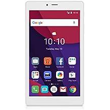 """Alcatel 9003X-2BALIT1 Pixi4 Tablet da 7"""", Processore da 1.3 GHz, RAM 1GB, HDD da 8GB, Bianco"""