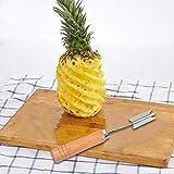 Ananasschäler aus Edelstahl, V-förmig, Ananasschneider