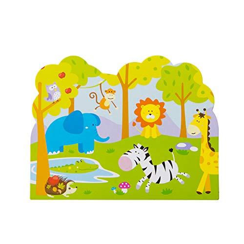 SUNBEAUTY 12 Kinder Geburtstag Einladungskarten Dschungel Geburtstagseinladungen Safari Party Wälder Kindergeburttsag Einladung (Einladungen Safari-geburtstags-party)