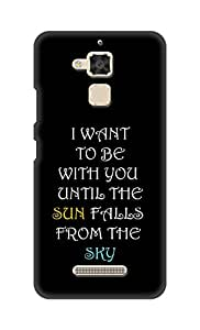 SWAG my CASE Printed Back Cover for Asus Zenfone 3 Max (ZC520TL)