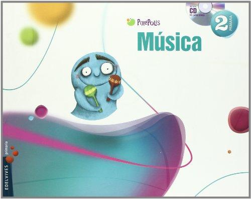Musica 2º Primaria (Pixépolis) - 9788426379986
