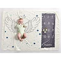 بطانية تصوير للاطفال - خلفية اجنحة الملاك