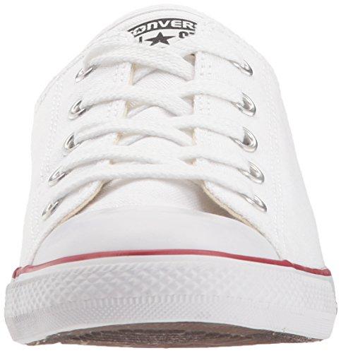 Converse CT Dainty Ox C537204 Damen Sneaker, Weiß (Blanc/Rouge), 39 EU - 4