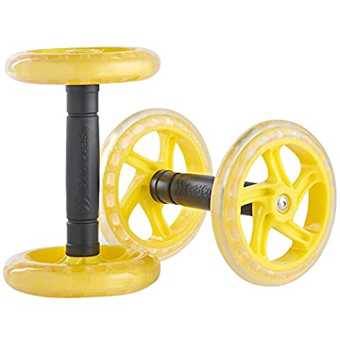 Gold Coast Twin Abdominal Exercise Roller Wheels, Core Ab Strength