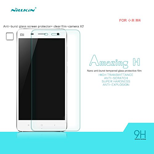 XIAOMI MI4 NILLKIN AMAZING H NANO ANTI-BURST TEMPERED GLASS FILM MI4